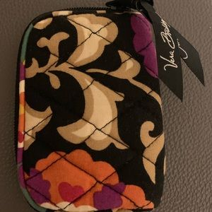 Vera Bradley zippered pouch for earbuds